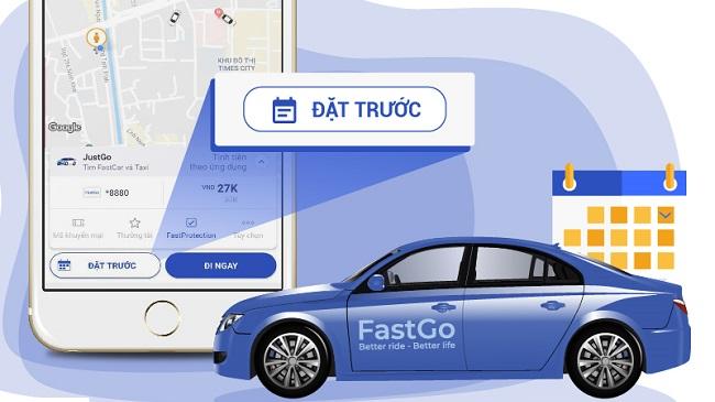 Ở nhà Vingroup, đi xe VinFast, gọi xe FastGo