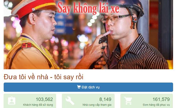 Startup Việt chớp thời cơ tung dịch vụ đưa người say về nhà