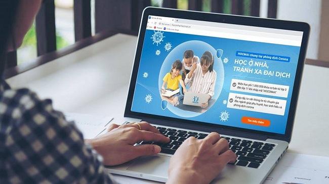 Gần 80% học sinh Việt Nam được học trực tuyến