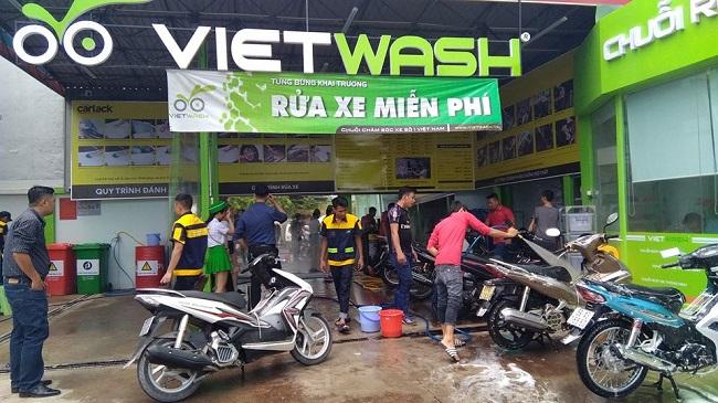 Chuỗi rửa xe Việt Nam nhận vốn Hàn Quốc