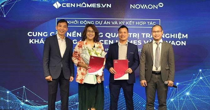 NOVAON cùng Cen Homes nâng cao trải nghiệm khách hàng