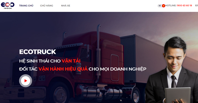 Startup EcoTruck nhận đầu tư hơn 100 tỷ đồng