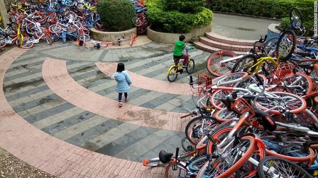 Mô hình xe đạp điện chia sẻ tại Hà Nội 1