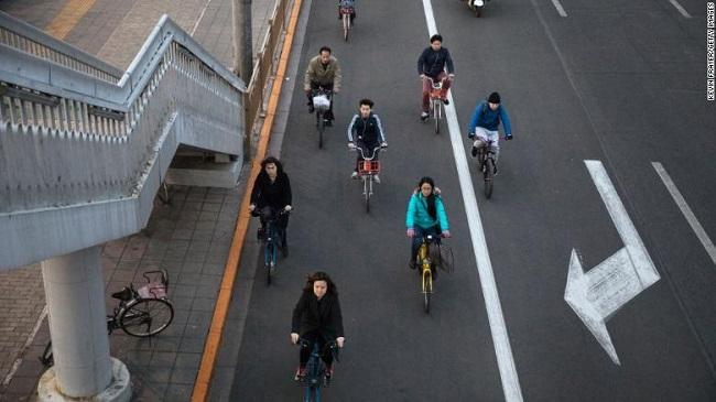 Mô hình xe đạp điện chia sẻ tại Hà Nội