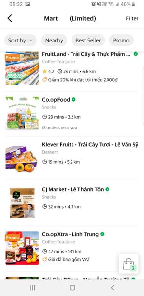 Tới lượt Grab Việt Nam tung dịch vụ đi chợ hộ