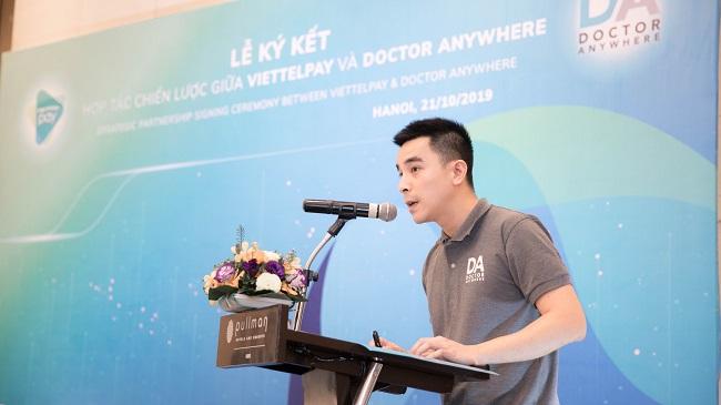Ứng dụng chăm sóc y tế Doctor Anywhere gọi vốn 27 triệu USD