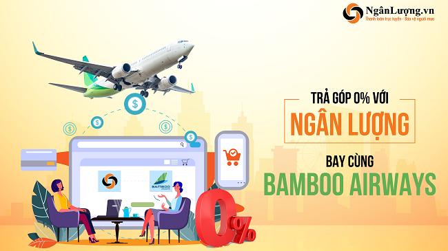 Ngânlượng.vn triển khai bán vé máy bay trả góp trực tuyến
