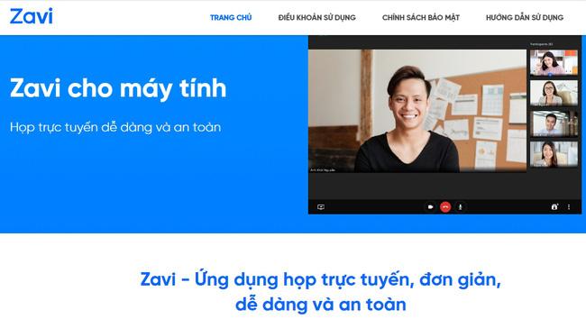 Nền tảng hội nghị trực tuyến 'Made in Vietnam'