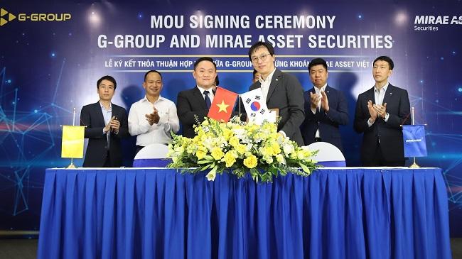 G-Group hợp tác chiến lược với Mirae Asset