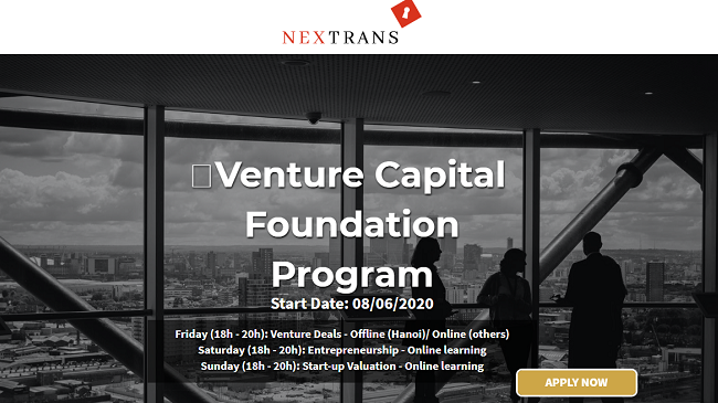 Chương trình đào tạo quỹ đầu tư mạo hiểm đầu tiên ở Việt Nam