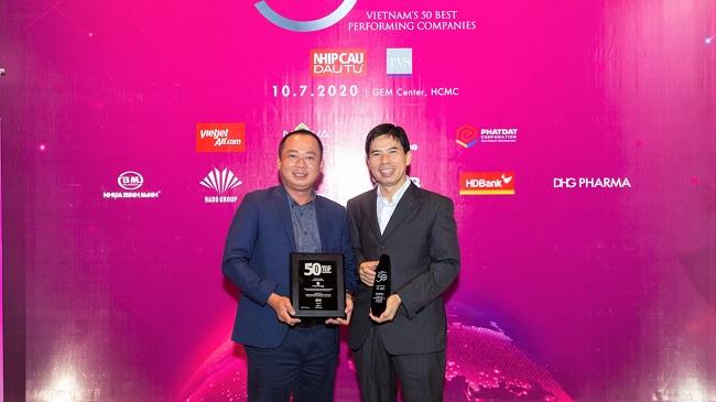 Thế Giới Di Động thống trị TOP 50 công ty hiệu quả nhất Việt Nam