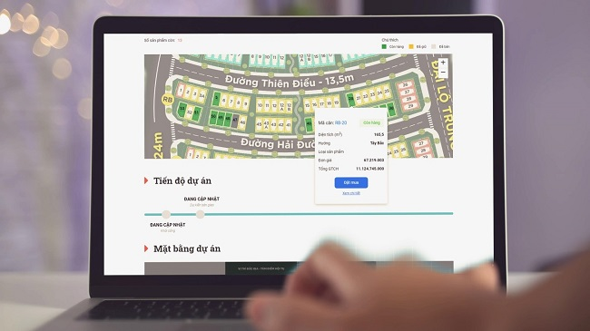 Startup Reti thúc đẩy thị trường bất động sản mùa dịch 1