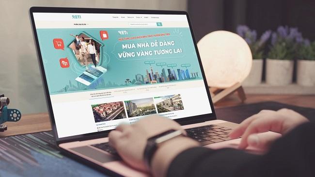 Startup Reti thúc đẩy thị trường bất động sản mùa dịch