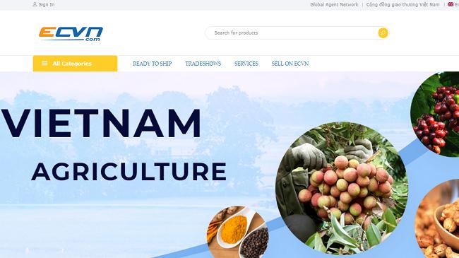 Nền tảng xuất khẩu đầu tiên cho hàng Việt Nam