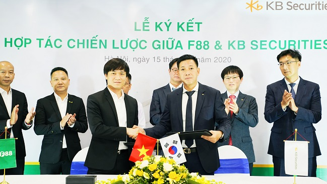 F88 hợp tác chiến lược cùng KB Financial Group Hàn Quốc