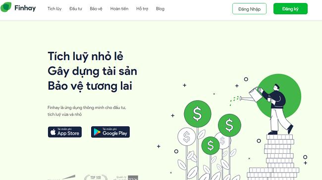 Finhay chuyển mình với ứng dụng đầu tư 4.0