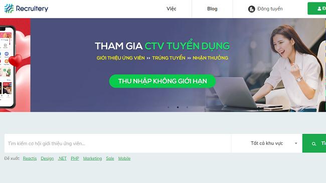 Startup Việt muốn thành Uber, Grab trong ngành tuyển dụng