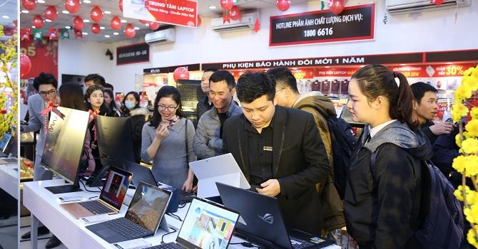 FPT Shop đồng loạt khai trương 30 Trung tâm laptop