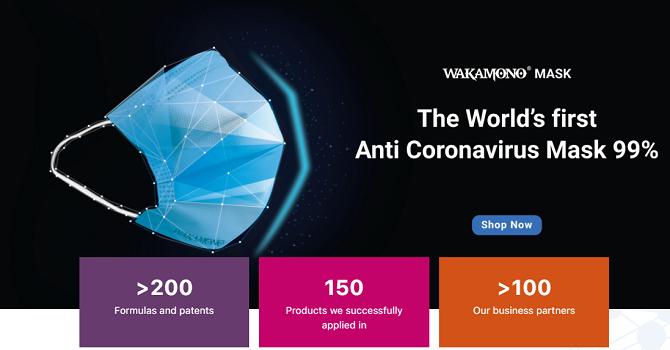 Người Việt làm khẩu trang diệt virus corona đầu tiên trên thế giới