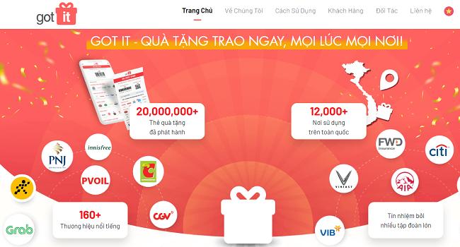 VNG rót vốn 6 triệu USD vào startup quà tặng Got It