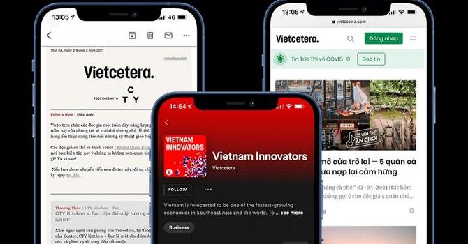 Startup truyền thông Vietcetera Media nhận vốn Nhật Bản 1