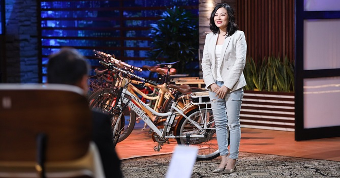 Startup xe đạp Wiibike được Shark Phú cam kết khủng