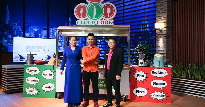 Bếp trên mây Cloud Cook nhận vốn Shark Bình và Shark Liên 1