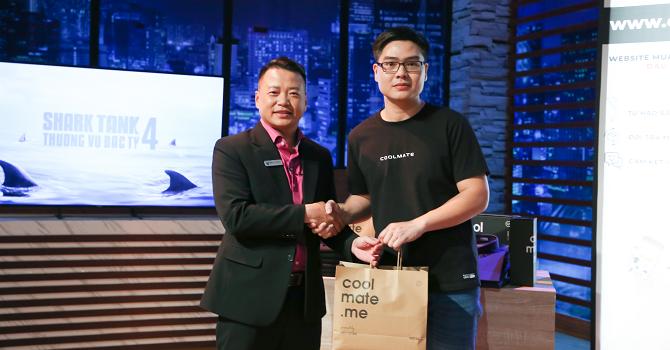 Startup Coolmate gọi vốn nửa triệu USD từ Shark Bình 1