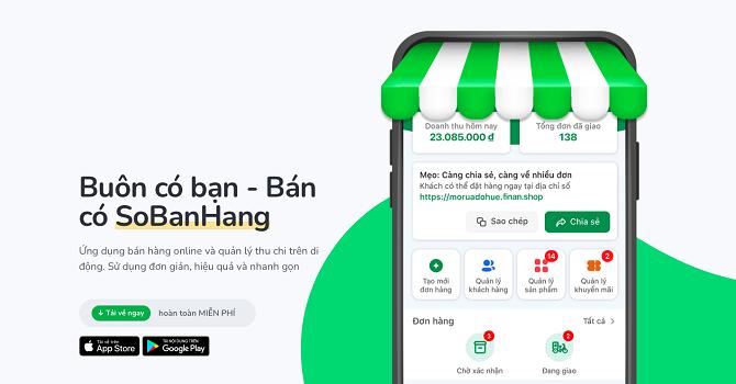 Ứng dụng SoBanHang nhận đầu tư 1,5 triệu USD