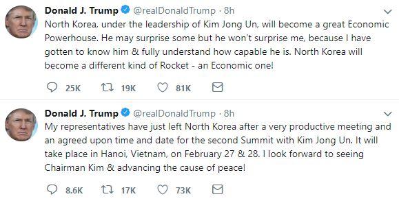 Cuộc gặp Mỹ - Triều lần hai sẽ diễn ra tại Hà Nội