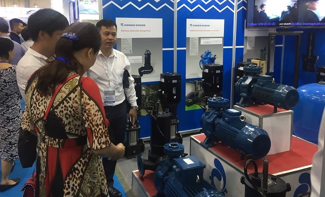 Những công nghệ ngành nước mới nhất tại triển lãm VIETWATER