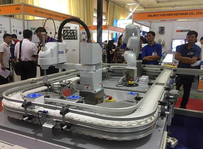 Thúc đẩy phát triển công nghiệp hỗ trợ tại chuỗi triển lãm quốc tế 2