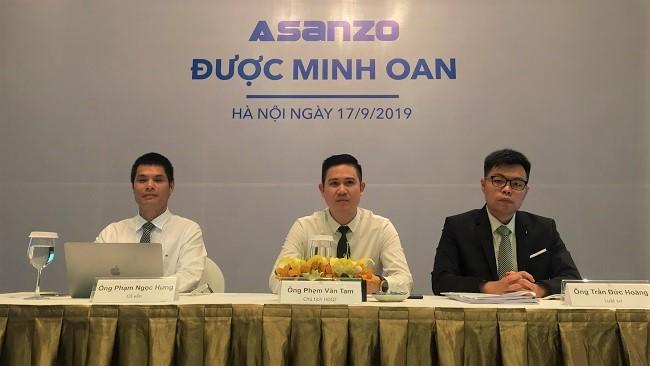 Asanzo có dấu hiệu trốn thuế, lừa dối người tiêu dùng