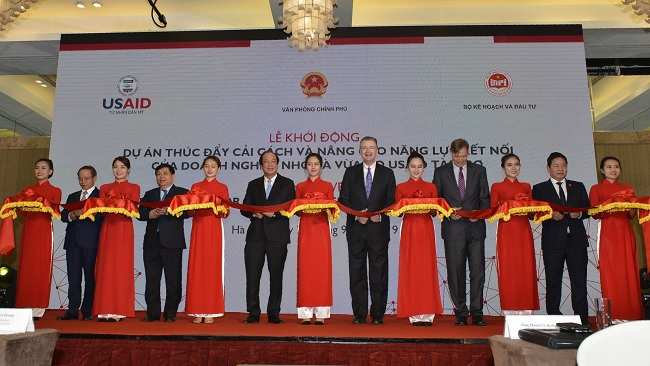 Mỹ tài trợ 22 triệu USD thúc đẩy năng lực kết nối cho doanh nghiệp Việt
