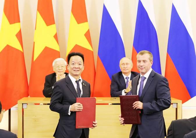 Tập đoàn T&T Group ký kết biên bản ghi nhớ với 3 đối tác lớn tại Nga 2