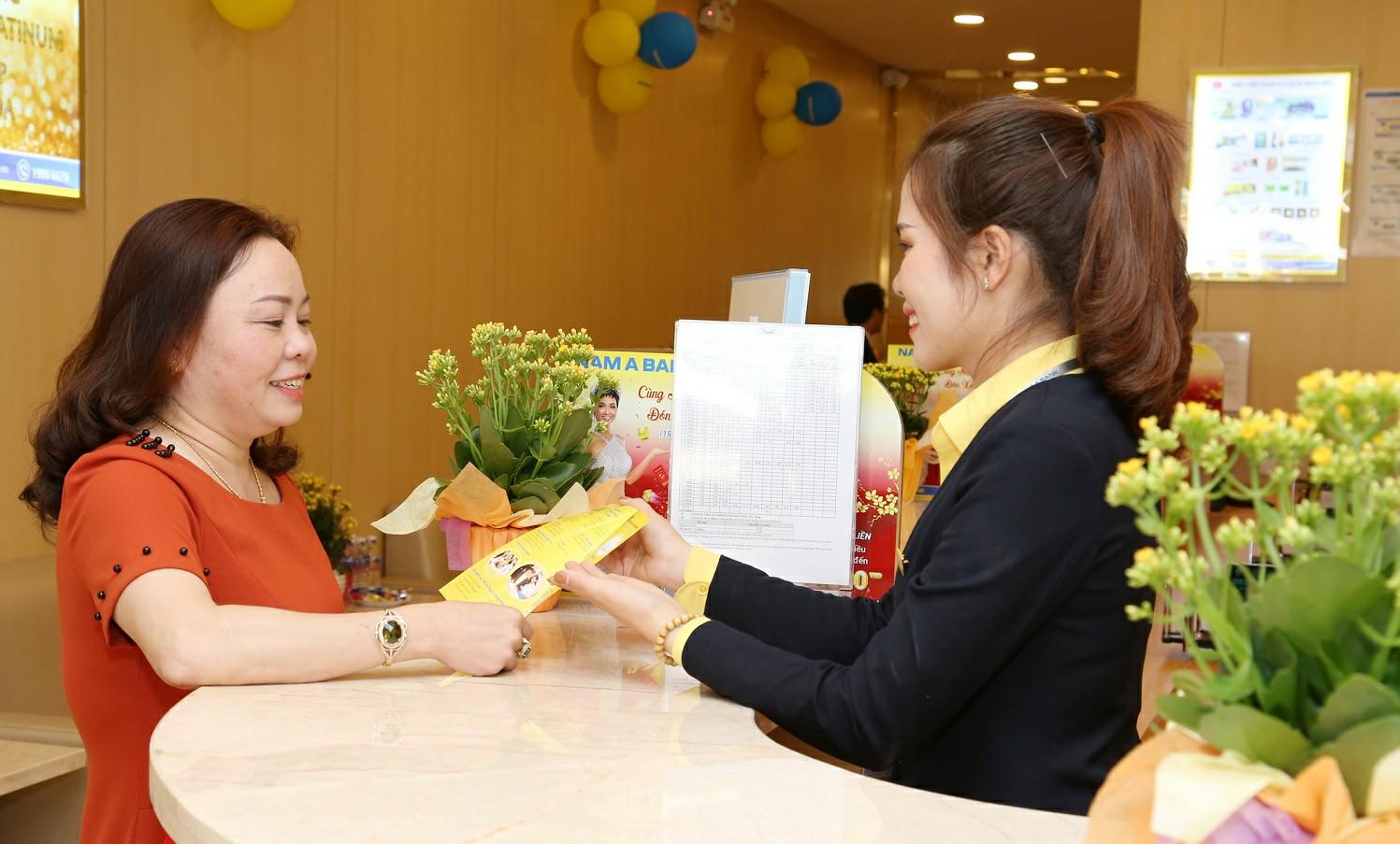 Nam A Bank đạt 574 tỷ đồng lợi nhuận trước thuế