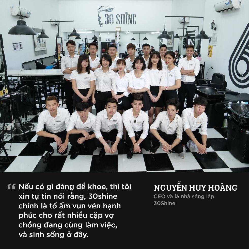 Chuyện chưa kể về 30Shine - chuỗi cắt tóc nam lớn nhất Việt Nam 16