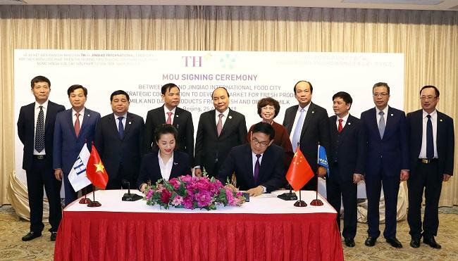 Dấu mốc quan trọng của Tập đoàn TH tại thị trường Trung Quốc