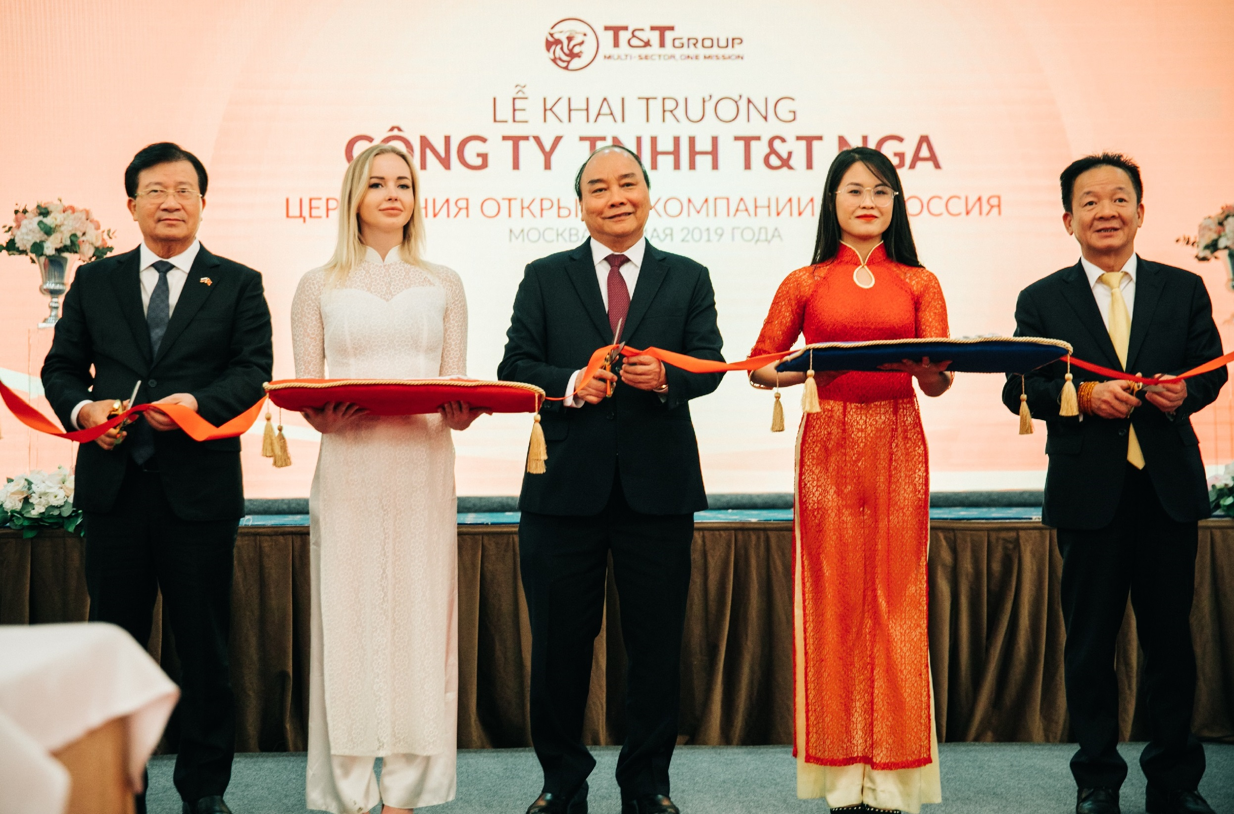 Tập đoàn T&T Group lập công ty tại Nga
