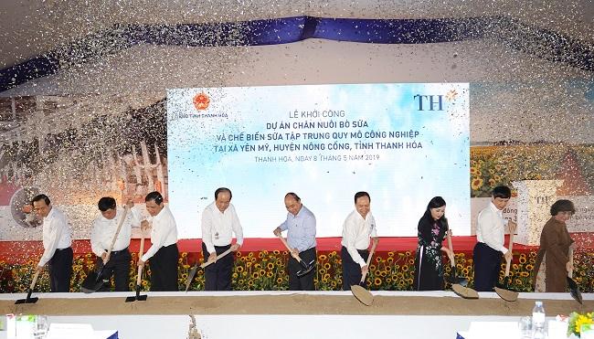 Tập đoàn TH khởi công dự án 3.800 tỷ đồng tại Thanh Hóa