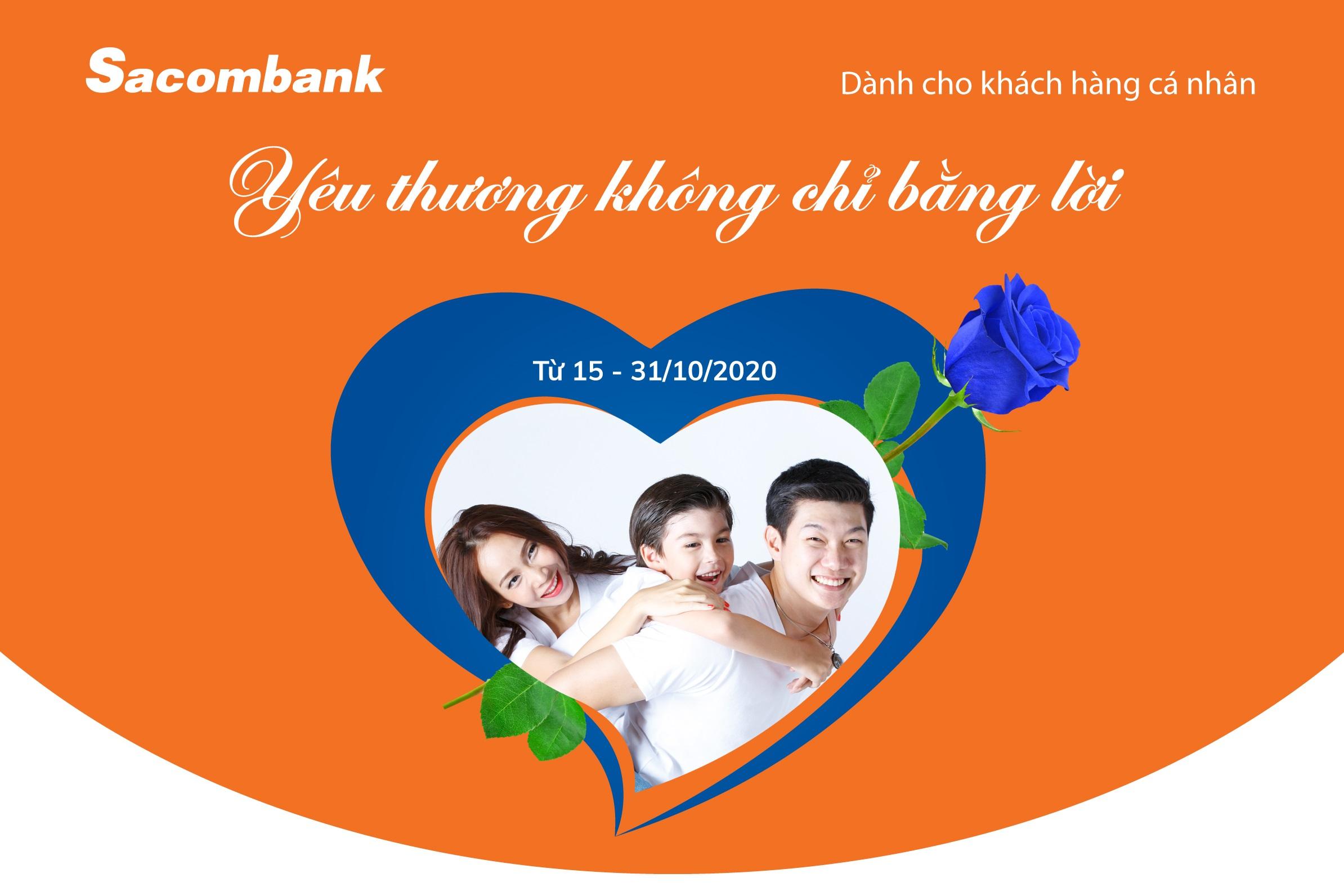 Sacombank có nhiều ưu đãi nhân ngày 20/10