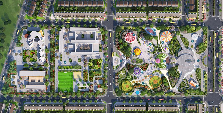 Đất Xanh rót gần 3.500 tỷ đồng vào dự án Gem Sky World