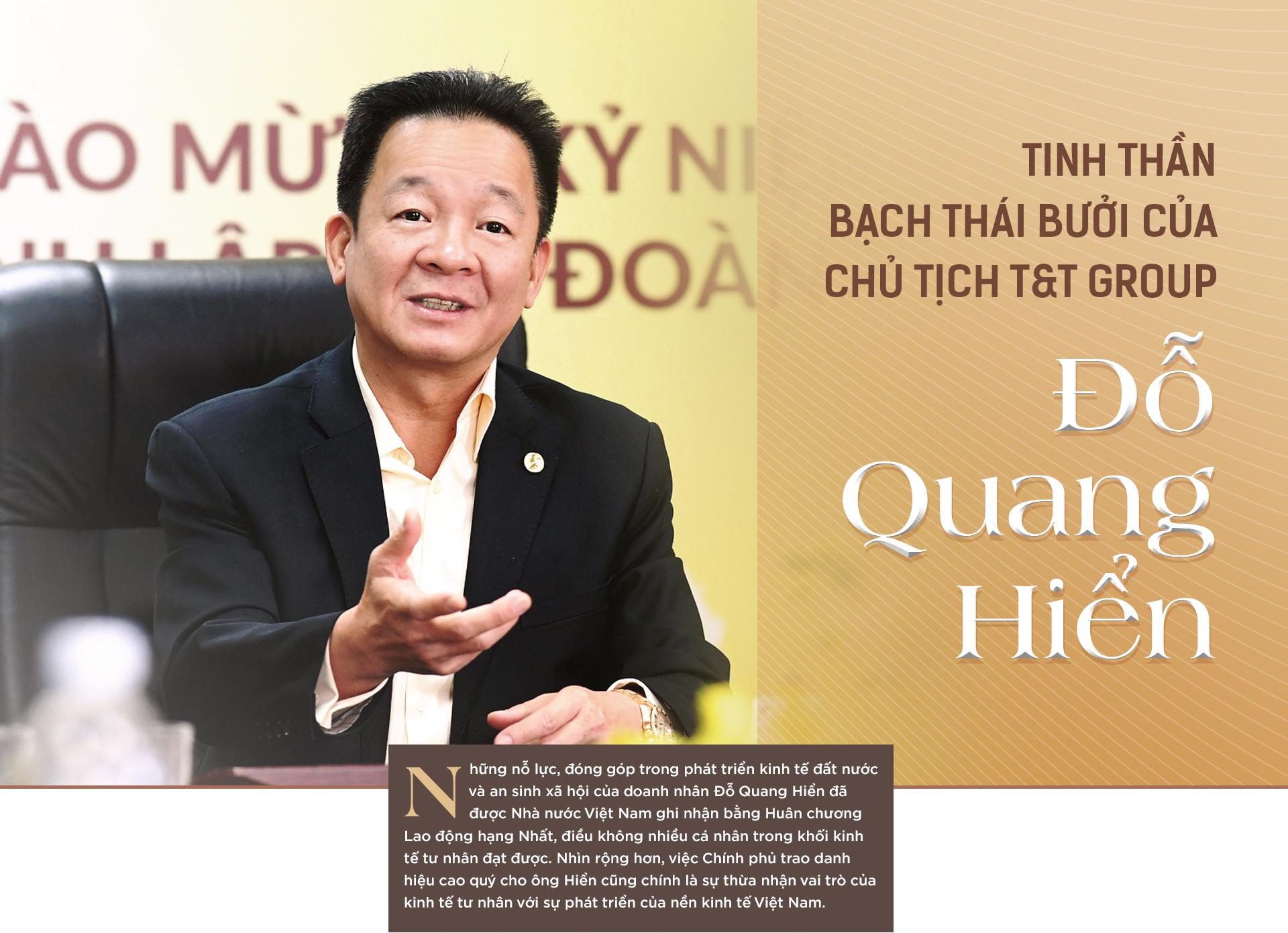 Tinh thần Bạch Thái Bưởi của Chủ tịch T&T Group Đỗ Quang Hiển