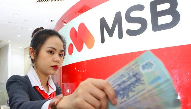 MSB đạt gần 290 lợi nhuận trước thuế trong quý I
