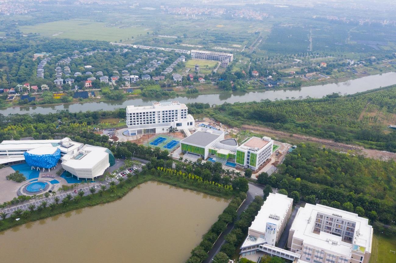 Vietcombank chi hơn 560 tỷ xây trung tâm đào tạo ở Ecopark