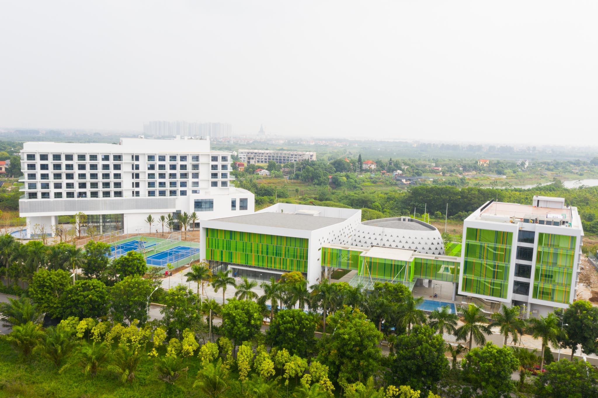 Vietcombank chi hơn 560 tỷ xây trung tâm đào tạo ở Ecopark 1