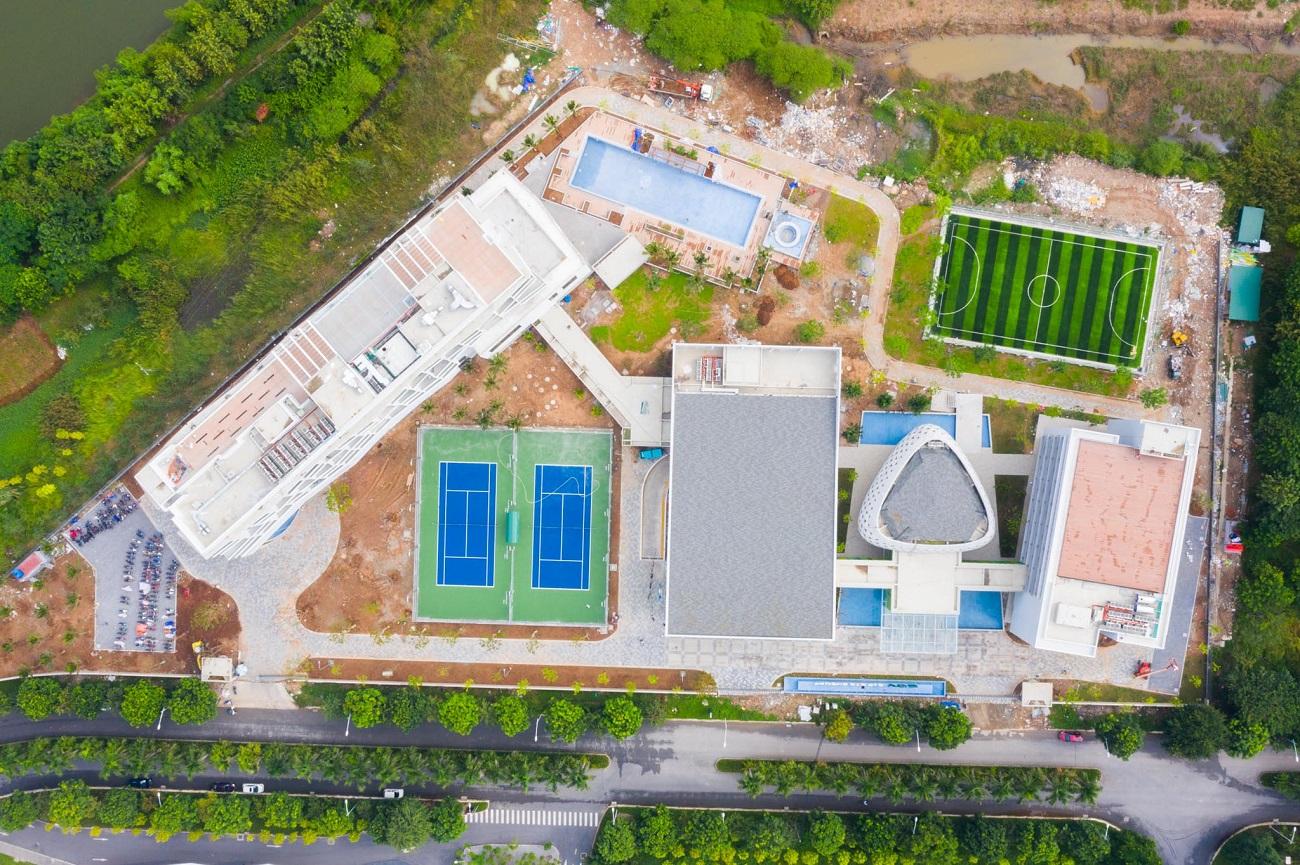 Vietcombank chi hơn 563 tỷ xây trung tâm đào tạo ở Ecopark 2