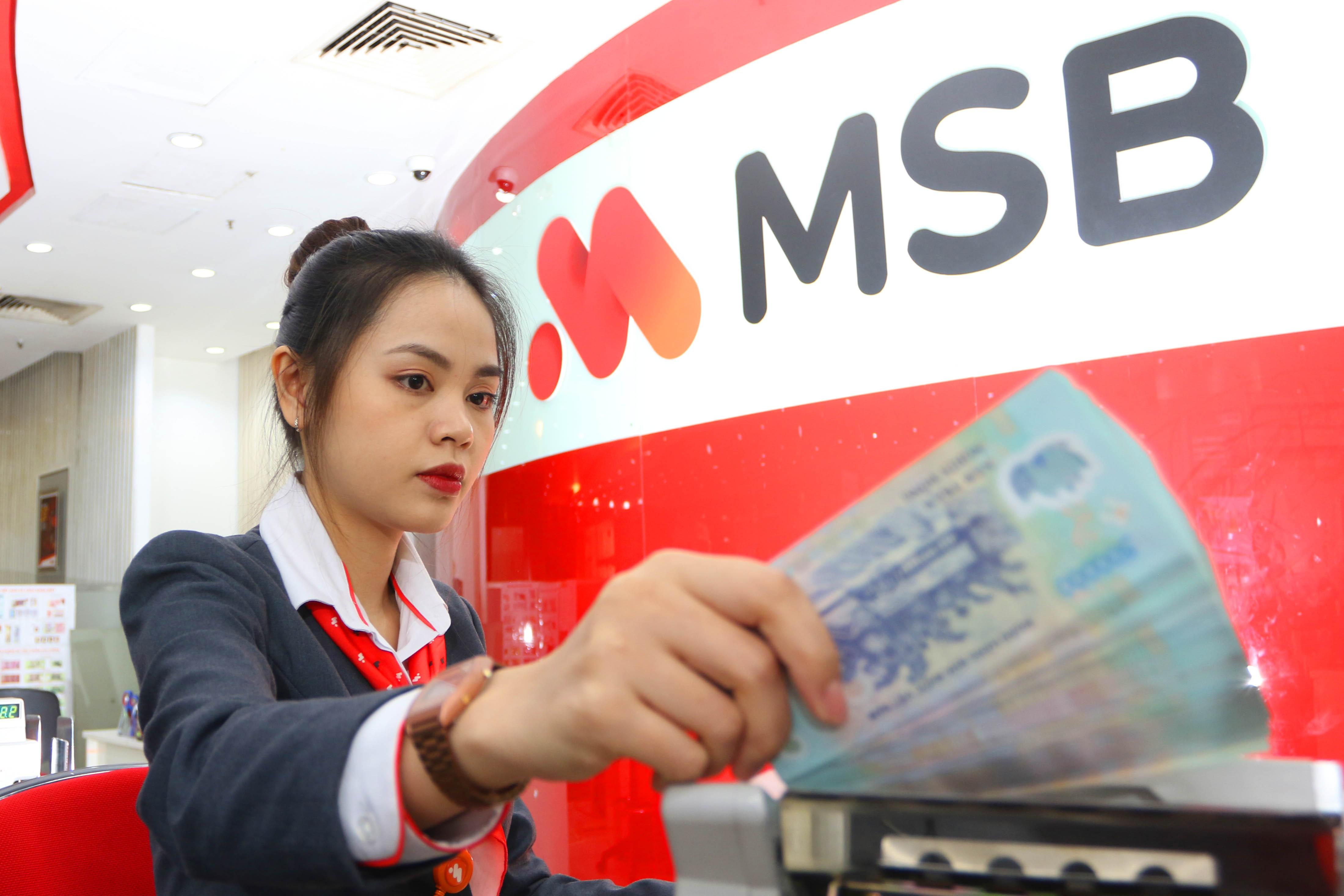 MSB đạt 979 tỷ đồng lợi nhuận trước thuế