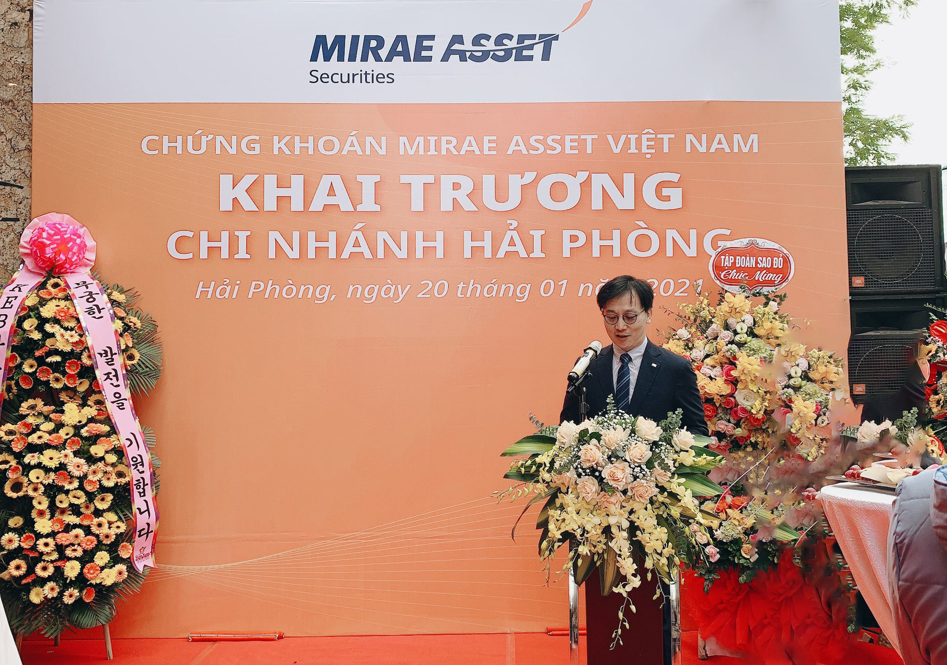 Công ty Chứng khoán Mirae Asset Việt Nam mở chi nhánh Hải Phòng