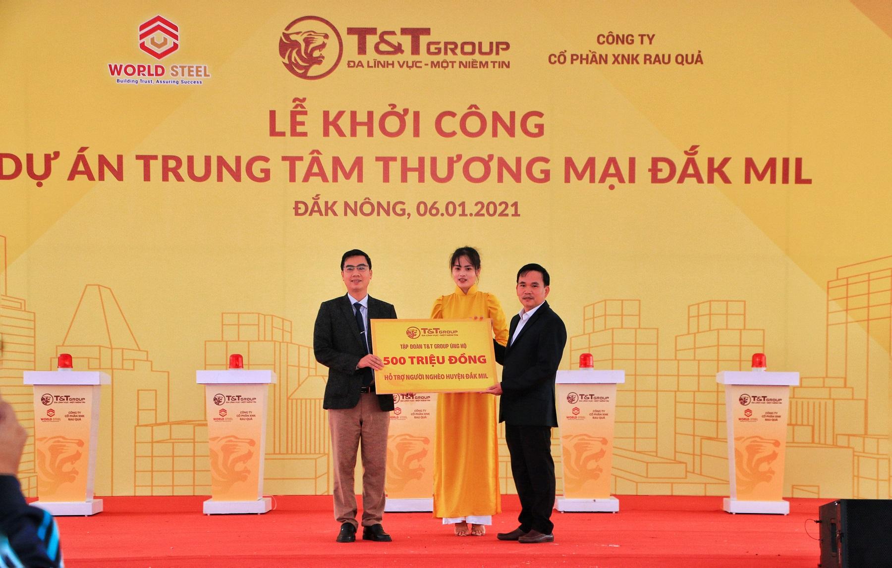 T&T Group khởi công trung tâm thương mại hiện đại tại Đắk Nông 1